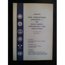 Abstracts Izmir International Symposium-II on Solar Energy Fundamentals and Applications